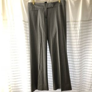 BCBGMAXAZRIA Heather Grey Flare Pants